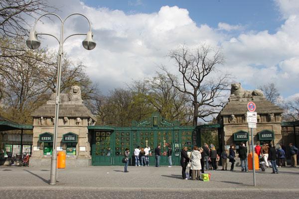 Berlinzoo Eingang
